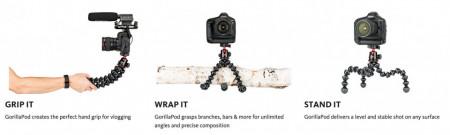 Joby GorillaPod 5K Kit Minitrepied flexibil pentru camere Pro