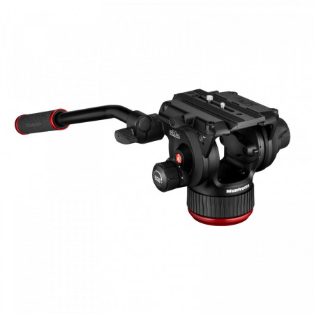 Manfrotto MVK504XTWINMC Kit Trepied video Carbon cu spreader de mijloc