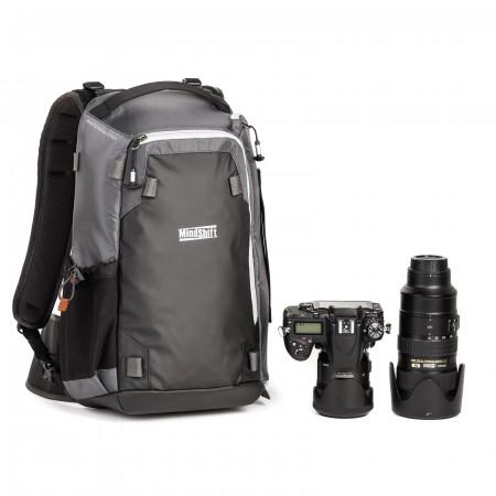 MindShiftGear PhotoCross 13 Backpack - Carbon Grey - rucsac foto