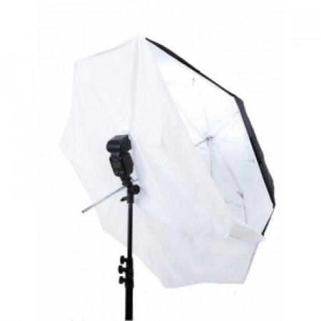 Pachet Lastolite Umbrela 8-in-1 93cm + Manfrotto Smart Tilt Suport umbrela cu patina compatibil blitz + Lastolite Stativ