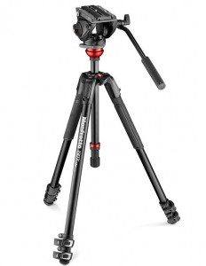 Pachet Manfrotto MVK500190XV Kit trepied video Mirrorless cu Husa 80cm