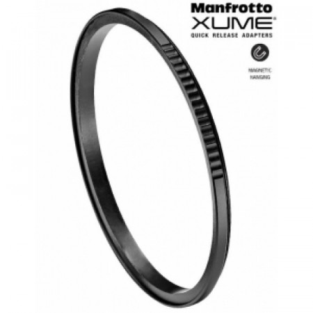 Pachet Manfrotto Xume adaptor magnetic obiectiv 77mm + Manfrotto Xume suport filtru 77mm + Manfrotto Xume suport filtru 77mm