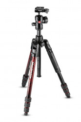 Manfrotto Befree Advanced Kit Trepied Foto Twist Red