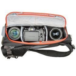 MindShiftGear PhotoCross 10 - Carbon Grey - rucsac cu o singura bretea