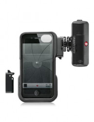 Manfrotto Carcasa iPhone 4, 4S cu LED
