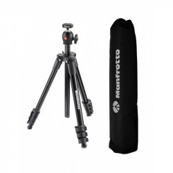 Manfrotto kit trepied Compact Light Black