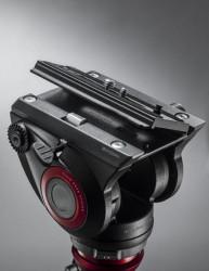 Manfrotto MVK500AM Kit trepied video cu cap fluid