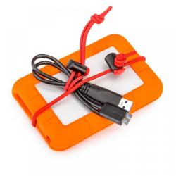 Think Tank Red Whips - 10 legaturi elastice reglabile