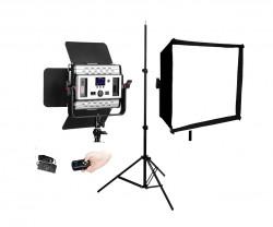 Tolifo GK-S36B Lampa Video LED Bicolor cu stativ si softbox