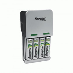 Energizer Compact Charger + 4AA 2000mAh