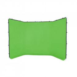 Lastolite Panza Chroma Key verde pentru Fundal panoramic 4x2.30m