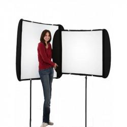 Lastolite Softbox Ezybox II ajustabil 117x44cm - 117x90cm