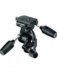 Manfrotto 808RC4 cap trepied foto profesional 3Way