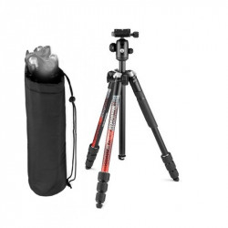 Manfrotto Trepied Foto cu cap bila Element MII Aluminiu Red Open Box