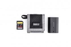 Think Tank CF SD + Battery Wallet - Gri - Portofel carduri si baterie