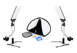 Tolifo Kit LED cu cort pentru fotografie de produs