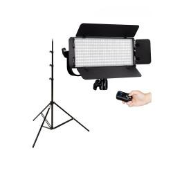 Tolifo Lampa Video LED Bicolor 40W cu stativ