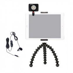 Joby Minitrepied cu suport pentru tableta cu LED si lavaliera