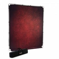 Manfrotto EzyFrame Fundal cu cadru 2 x 2.3m Crimson