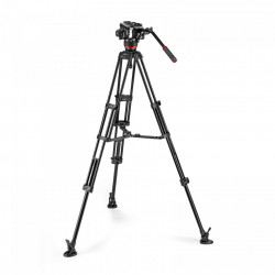 Manfrotto MVK504XTWINMA Kit Trepied video cu spreader de mijloc