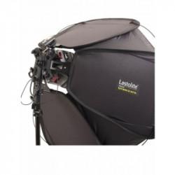 Pachet Lastolite Ezybox II Octa Quad Kit Medium 80cm + Lastolite Stativ pneumatic