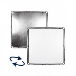 Lastolite Skylite Rapid Panza Silver White 1.5x1.5m