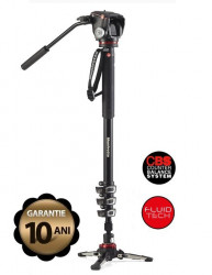 Manfrotto Kit Monopied video fluid dedicat Mirrorless