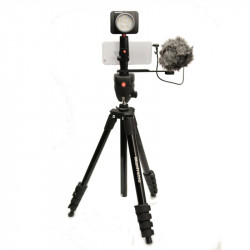 Manfrotto Kit pentru Vlogger LED6 Compact Action