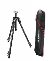 Pachet Manfrotto 290 XTRA trepied foto Carbon+Manfrotto Cap video fluid