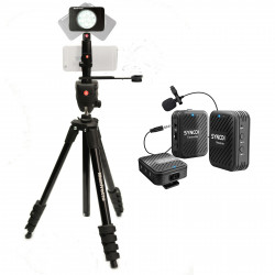 Manfrotto Kit pentru Fitness Vlog LED8 Wireless Synco Dubla