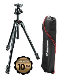 Manfrotto Kit Trepied 290 XTRA, cu cap bila si husa Open box