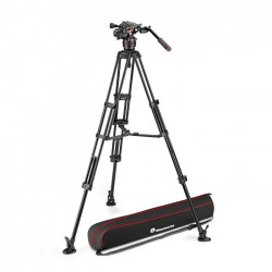 Manfrotto Nitrotech 608 kit trepied video mid-spreader