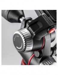 Manfrotto X-PRO cap trepied foto 3-Way cu manere retractabile
