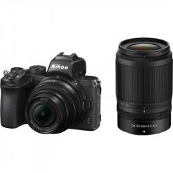 Nikon Z50 Dual Zoom Kit (16-50mm VR + 50-250mm VR)