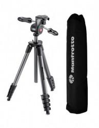 Manfroto Compact Advanced trepied foto cu suport smartphone
