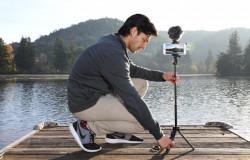 Joby GripTight PRO TelePod telescopic cu telecomanda, LED si lavaliera