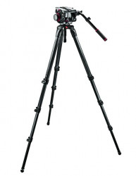Manfrotto kit trepied video 509HD,536K