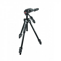 Manfrotto MK290LTA3-3W Kit Trepied 290 LIGHT cu cap 3Way cu manere culisabile