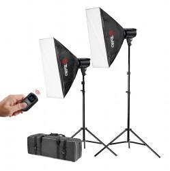 Tolifo MT-S60 Kit Lampa foto-video LED 5600K 60W