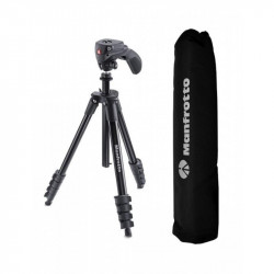 Manfrotto kit trepied Compact Action Black