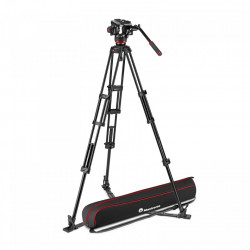 Manfrotto MVK504XTWINGA Kit Trepied video cu spreader de podea