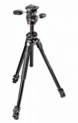 Manfrotto MK290DUA3-3W kit trepied foto cu cap 3Way