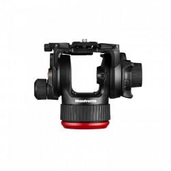 Manfrotto MVK504XTWINGC Kit Trepied video Carbon cu spreader de podea