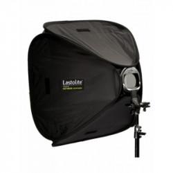Pachet Lastolite Ezybox Hotshoe 90x90cm cu prindere + Lastolite Ezybox 2401 Hot Shoe Tilthead Suport compatibil blitz si umbrela