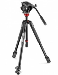 Pachet Manfrotto MVK500190XV Kit trepied video Mirrorless cu Husa 80cm
