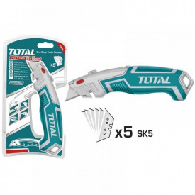 TOTAL - Cutter - 61x19mm - 180mm (INDUSTRIAL)
