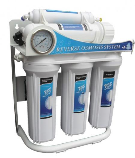 Equipo Osmosis Inversa 100 Gpd 5 Etapas Con Bomba