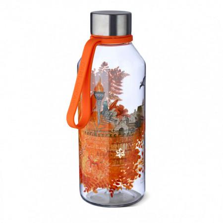 CARL OSCAR sticla din Tritan™ WisdomFlask orange