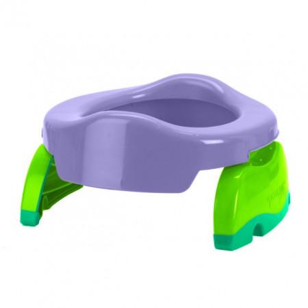 PACHET PROMO - Olita portabila culoarea lila Potette Plus + Pungi biodegradabile de unica folosinta - 30 buc/set