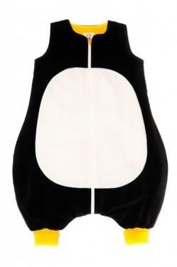 Sac de dormit cu picioare Penguin Bag, model Pinguin, tog 1, 1-3 ani (66-96 cm)